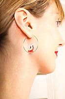 Flamingo earrings image
