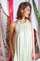 Mint green voluminous dress image