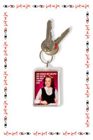 You Would Not Belive the Size of the F**k I Don't Give Keychain image