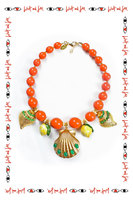 Shell Statement Necklace image