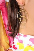 Multiple Hoop Earrings  image